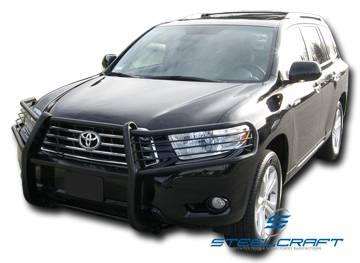 Black - Toyota - Steelcraft - Steelcraft 53340 Black Grille Guard Toyota RAV 4 2006-2011