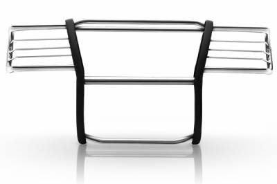 Steelcraft - Steelcraft 52077 Stainless Steel Grille Guard Jeep Liberty (2002-2007)