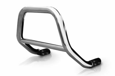 "Steelcraft Grille Guards - 2.5"" Sport Bar - Steelcraft - Steelcraft 72190S 2.5"" Sport Bar for (2007 - 2010) Dodge Nitro in Stainless Steel"