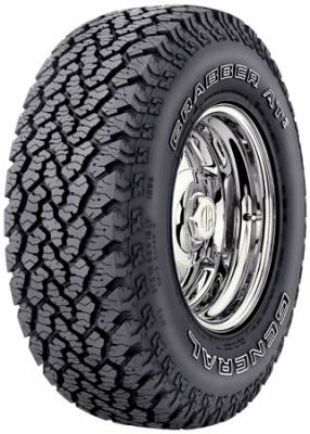 Search Tires - General Tires - General Tire - General Tire 15473850000 P265/65R17 110S GRABBER AW