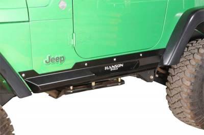 Jeep Bumpers - Hanson - Rock Sliders - Hanson Offroad - Hanson Offroad TJRP-P TJ Rocksliders