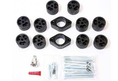 "Performance Accessories Suspension Parts - Blocks - Performance Accessories - Performance Accessories MB02-5/8 2"" Mini Block Drilled To 5/8 For Hitch On 2003 Chevy"