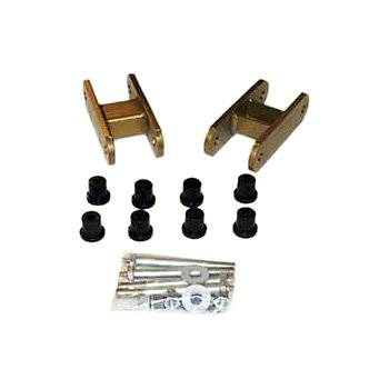 Performance Accessories Suspension Parts - Greasable Shackles - Performance Accessories - Performance Accessories 3293 Greasable Shackles Jeep Cj Scram Rear Wrangler Front 1976-1988