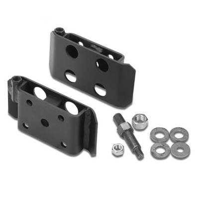Performance Accessories Suspension Parts - U-Bolt Skid Plates - Performance Accessories - Performance Accessories 2402 U-Bolt Skid Plates U Bolt Skid Plate Jeep Cj-5 Cj-6 Front Double Shock  1972-1975