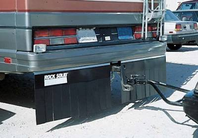 "Hitch Mud Flaps - Rock Solid - Rock Solid - Rock Solid 01696 Motorhome Hitch Mud Flap System 96"" x 16"""