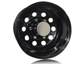 Wheels and Tires - Search Steel Wheels - Pro Comp Rock Crawler Series 87 Black Monster Mod Wheels