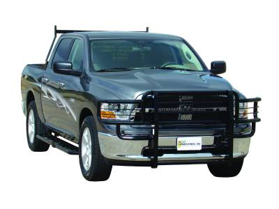 Rancher Grille Guards for Dodge Trucks - Rancher Grille Guards in Black - GO Industries - Go Industries 46664 Black Rancher Grille Guard Dodge Ram 2500/3500 Sport and Laramie Package 2006-2009