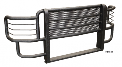 Grille Guards & Brush Guards - Go Industries Ultimate Armor Rancher Grille Guards - GO Industries - Go Industries 44751 Ultimate Armor Grille Guard Chevy 2500HD/3500 2011-2014
