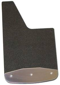 "Shop Truck Mud Flaps - Dodge RAM 1500 - Luverne - Luverne 250931 Rubber Mud Flaps Dodge Ram 1500 2009-2019 12"" x 20"" Rear Only"