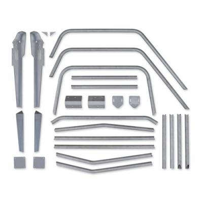 Suspension Systems - Poison Spyder Suspension and Accessories - Poison Spyder - Poison Spyder 13-19-010 Jeep YJ Full Cage Kit Bare Steel
