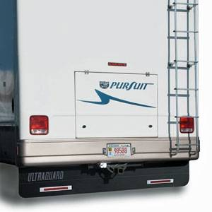 "Hitch Mud Flaps - Ultra Guard - Ultra Guard - Ultra Guard 00014 RV Mud Flap System 94"" x 20"" Mud Flap"