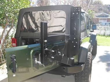 Bumpers - Jeep Bumpers - Rock Slide Engineering - Rock Slide Engineering - Rock Slide AC-RR-102 Rigid Rack