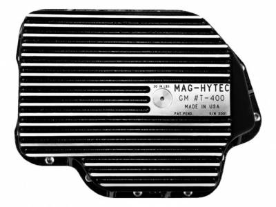 Differential Covers - Mag Hytec - Mag Hytech - Mag Hytec GMT-400 Transmission Pan GM 1965-1998 3 Speed Automatic