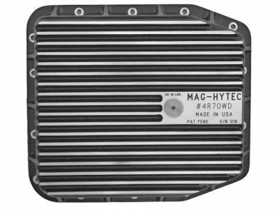 "Differential Covers - Mag Hytec - Mag Hytech - Mag Hytec 4R70W-D Transmission Pan Passenger Car 3-3/4"" Height"