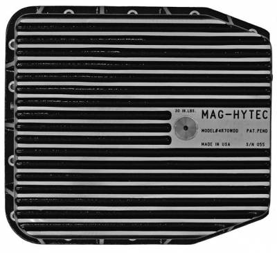 "Differential Covers - Mag Hytec - Mag Hytech - Mag Hytec 4R70W-DD Transmission Pan Ford 4-3/4"" Height"