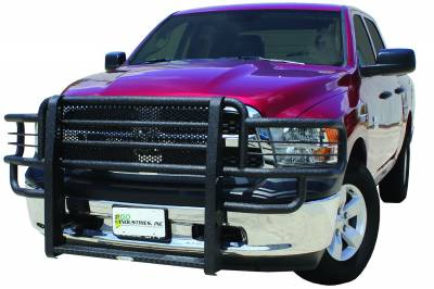 Grille Guards & Brush Guards - Go Industries Ultimate Armor Rancher Grille Guards - GO Industries - Go Industries 44671 Ultimate Armor Grille Guard Dodge 1500 2013