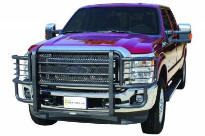 Grille Guards & Brush Guards - Go Industries Ultimate Armor Rancher Grille Guards - GO Industries - Go Industries 44644 Ultimate Armor Grille Guard Ford F250/F350/F350/F550 2011-2014