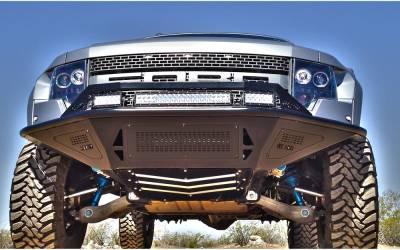 MDF Exterior Accessories - Bumpers - Addictive Desert Designs - Addictive Desert Designs ADDFB011002500103 Stealth Front Bumper Front Raptor 2010-2013
