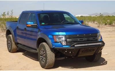MDF Exterior Accessories - Bumpers - Addictive Desert Designs - Addictive Desert Designs ADDFB013061150103 Standard Front Bumper Ford Raptor 2010-2013