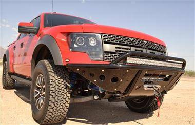 Addictive Desert Design Bumpers - Ford F150 Raptor - Addictive Desert Designs - Addictive Desert Designs ADDFB013222400103 Standard Front Bumper with Winch Mount Ford Raptor 2010-2013