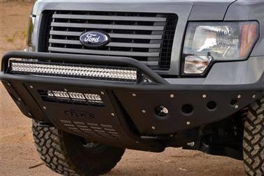 MDF Exterior Accessories - Bumpers - Addictive Desert Designs - Addictive Desert Designs ADDFB103192400103 Standard Front Bumper Ford F150 EcoBoost 2011-2013