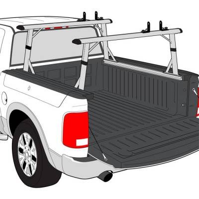 Vantech Van Racks - Dodge Van Racks - Vantech - Vantech P3510 Aluminum P-Series Ladder Rack Dodge RamBox 2013-2014