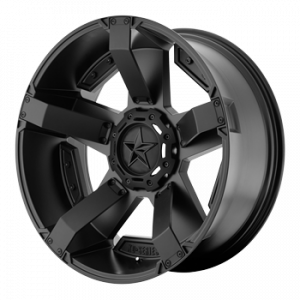 Wheels and Tires - KMC XD Series - XD811 Rock Star 2 Matte Black with Gloss Black Accents