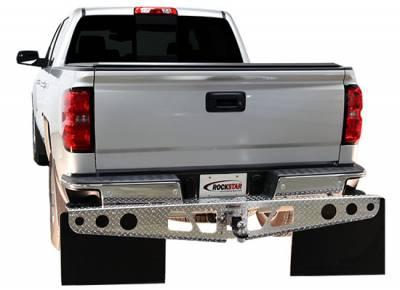 Rockstar Hitch Mud Flaps - Rockstar Hitch Mud Flaps A1010022 Diamond Tread Ford F250 2004-2013 - Image 2