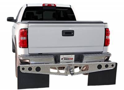 Rockstar Hitch Mud Flaps - Rockstar Hitch Mud Flaps A1010022 Diamond Tread Ford F250 2004-2013 - Image 3