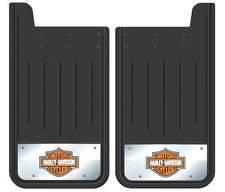 Ford Trucks - Plasticolor Splash Guards - Plasticolor - Plasticolor 000600R01 Davidson Mud Flaps 12 x 23 Pair